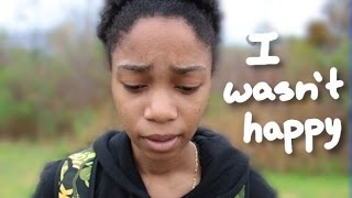 I ran away from home..