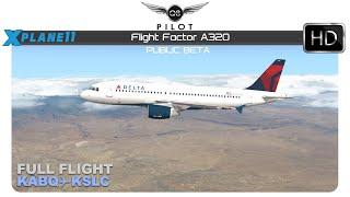 [X-Plane] Flight Factor A320 | KABQ KSLC | Full Flight