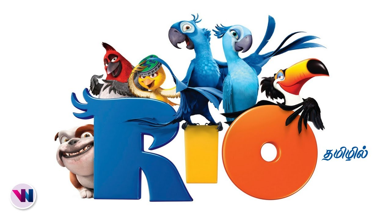 Download Rio tamil dubbed animation movie comedy action adventure birds story