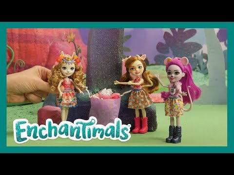 Enchantimals 💜Clean Up With The Enchantimals 🍃 Earth Day Special | Videos For Kids