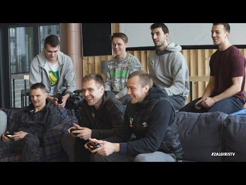 """""""GameOn Žalgiris Challenge"""": kova dėl geriausio """"FIFA17"""" dueto vardo"""