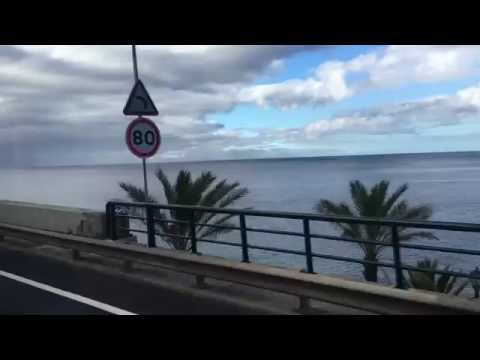 Spectacular Bus Ride from Funchal to Madeira Airport, Portugal - 3rd July, 2016