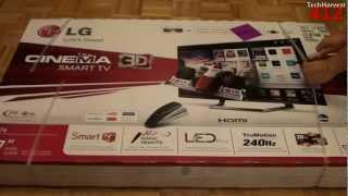 LG 3D Cinema Smart TV (47LM7600): Unboxing