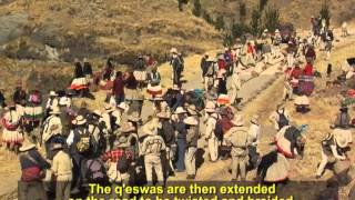 Knowledge, skills and rituals related to the annual renewal of the Q'eswachaka bridge