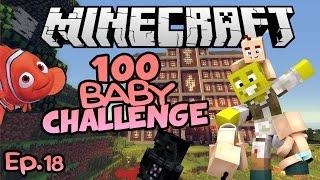 Darth Vader, Disney & More!   Minecraft 100 Baby Challenge Ep.18