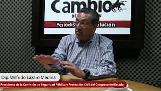La entrevista con Wilfrido Lázaro