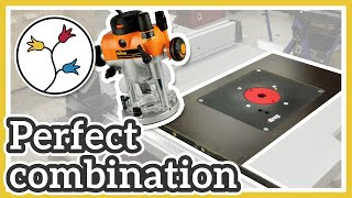ROUTER TABLE INSERT FOR BOSCH TABLE SAW – ALL THE DETAILS