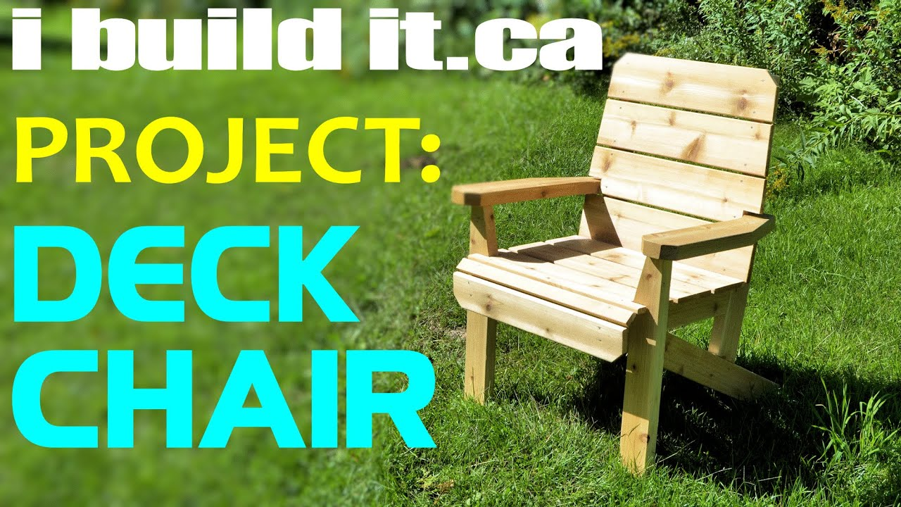 easy to make deck chair youtube