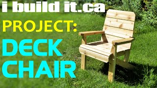 Making A Deck Chair