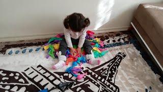 Renkli Balon Yağmuru | Learn Colors With Colorful Balloons | Oyuncu Bebe TV