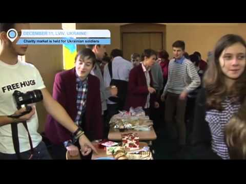 Lviv Charity Market: Children fundraising in support of the Ukrainian army