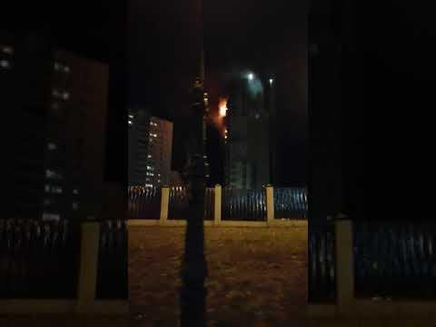 Пожар на Балтийской 2