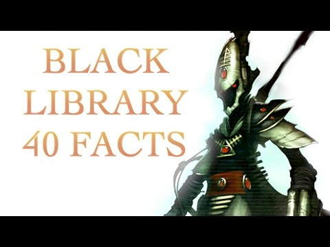 40 Facts and Lore about the Black Library Warhammer 40K