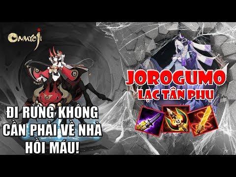 Lạc Tân Phụ (Jorogumo) đi rừng không mất máu luôn!!! | Onmyoji Arena - Âm Dương Sư MOBA