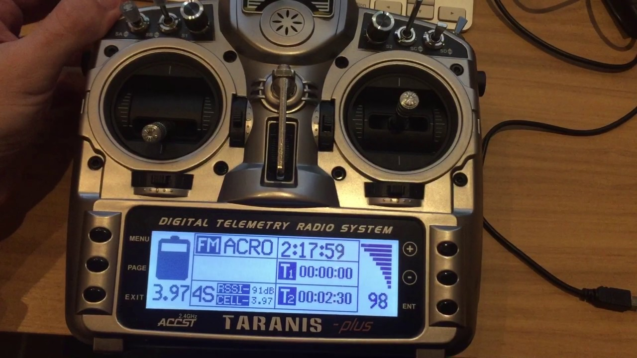 Taranis Telemetry Lua Script for FPV racing drones - all the credits goes  to Tozes