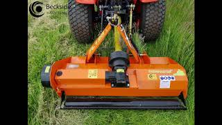 flail mower for compact tractor video, flail mower for compact