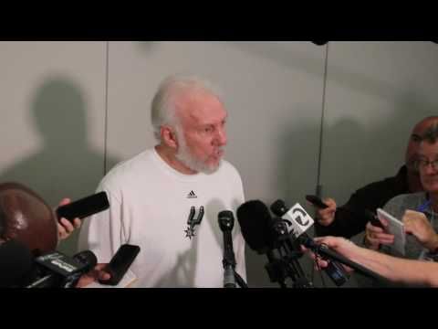 Gregg Popovich furious that Zaza Pachulia injured Kawhi Leonard