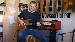 NOwaxx Pickups: Hot PAF / M.Hornauer Guitar