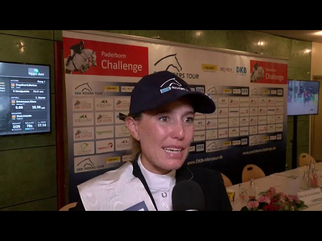Janne Friederike  Meyer- Zimmermann -  Plötzlich Zweite der DKB Riders Tour