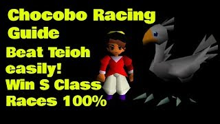 Win betting chocobo racing ff7 matt bessette bellator 134 betting