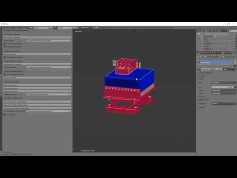 Simple Material Replacement Addon For Blender - How To Use