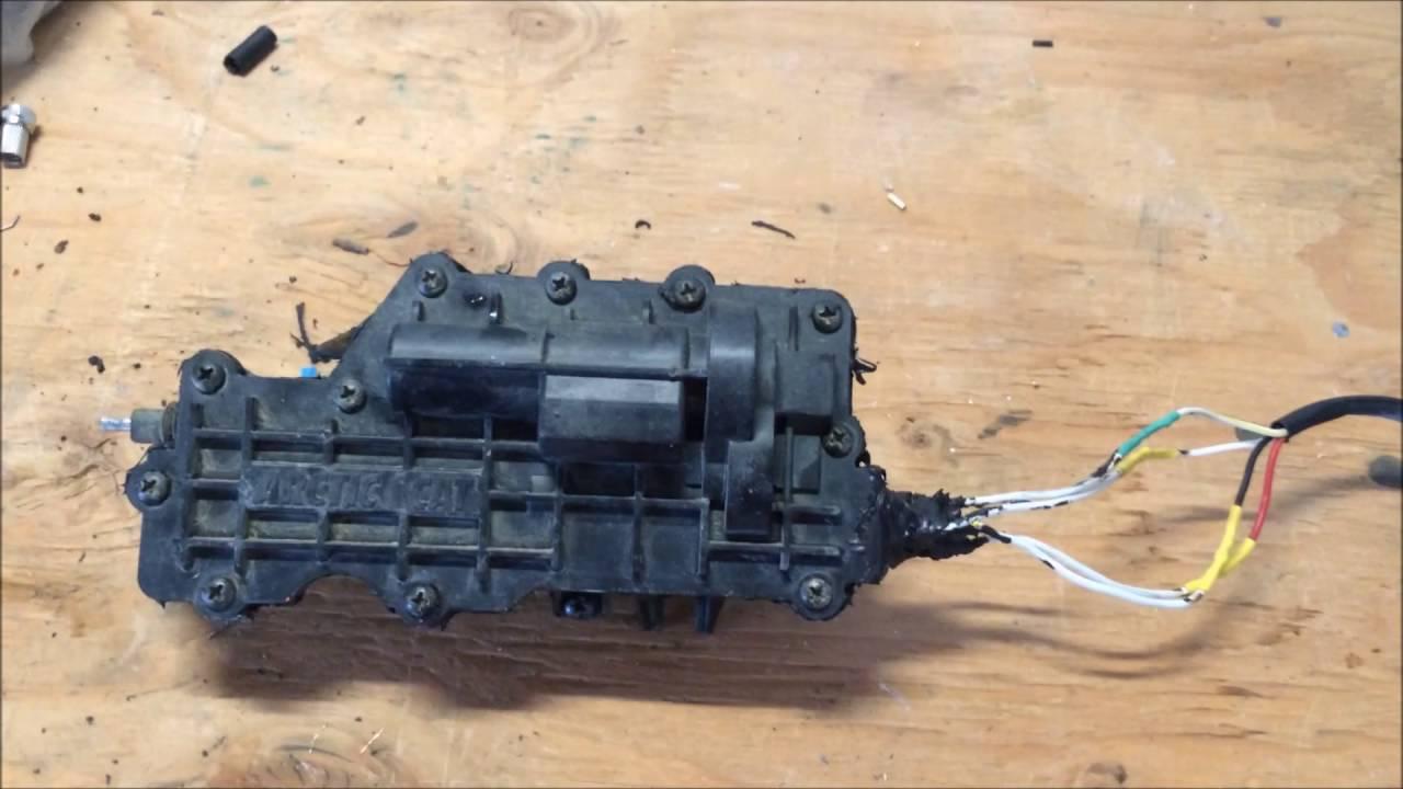2014 Arctic Cat Wildcat 4 Front Diff Actuator Repair Youtube 2013 Wiring Diagram