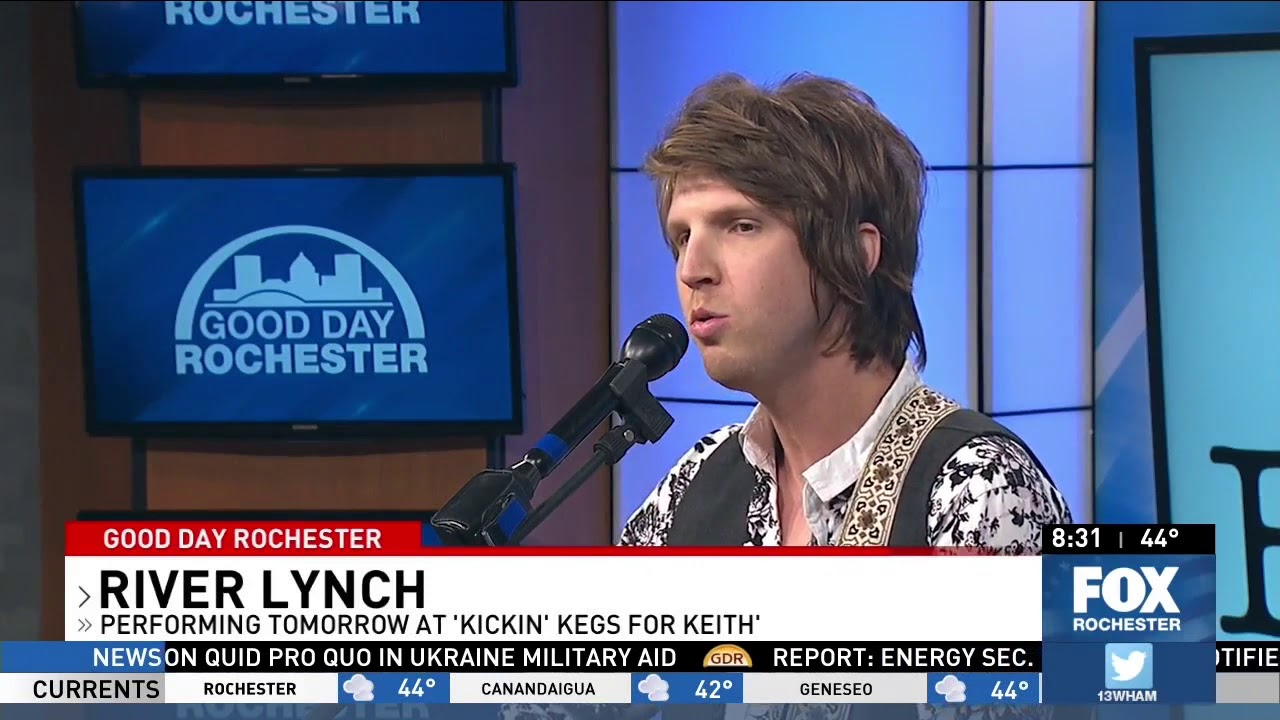 River Lynch performs on Good Day Rochester