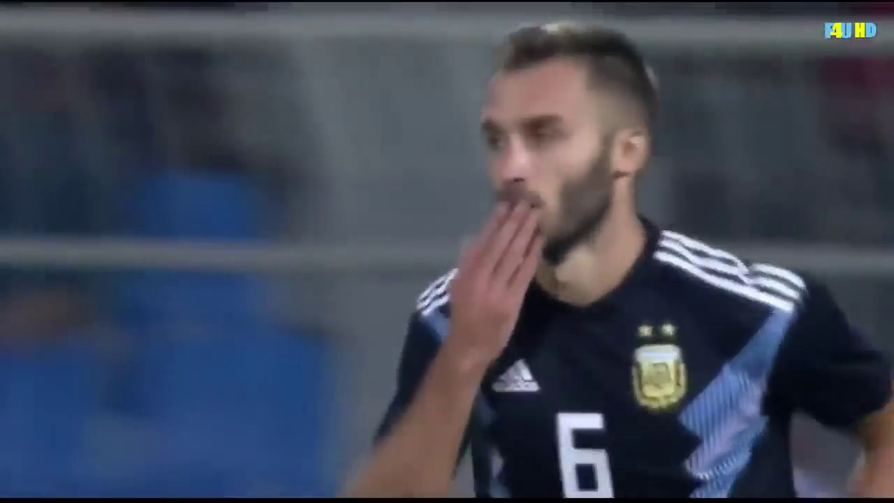 Download Germán Pezzella goal   Argentina vs Iraq 4-0   All Goals & Highlights 2018 HD