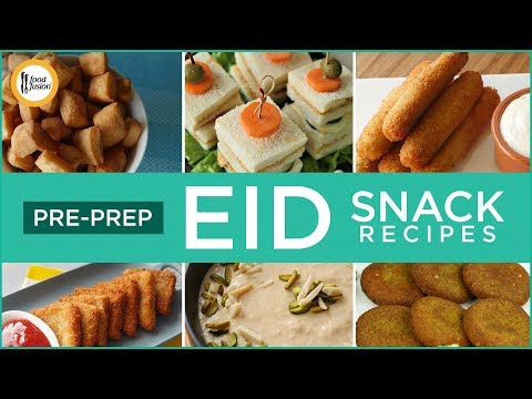 Pre Prepare Eid Snack Recipes By Food Fusion (Eid Special Recipes)