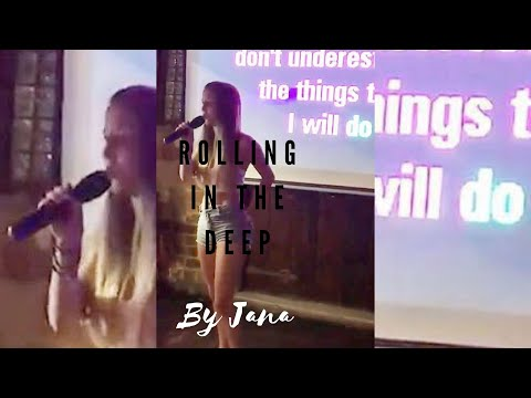 Rolling In The Deep - Cover By Jana