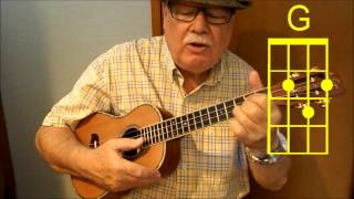 ON MOONLIGHT BAY (revisited) - Ukulele video tutorial by UKULELE MIKE LYNCH
