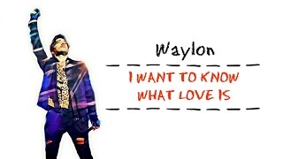 Waylon - I Want To Know What Love Is [Foreigner Cover] [Songtekst] [Lyrics]