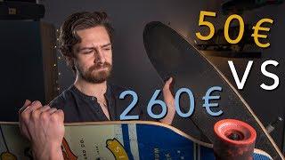 Longboard à 50€ vs 260€ - Échappées Urbaines