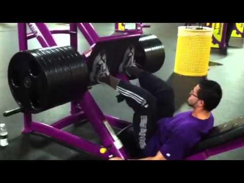 leg press 810 lbs  youtube