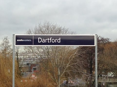 Full Journey on Southeastern from London Cannon Street to Dartford (via Greenwich and Woolwich)