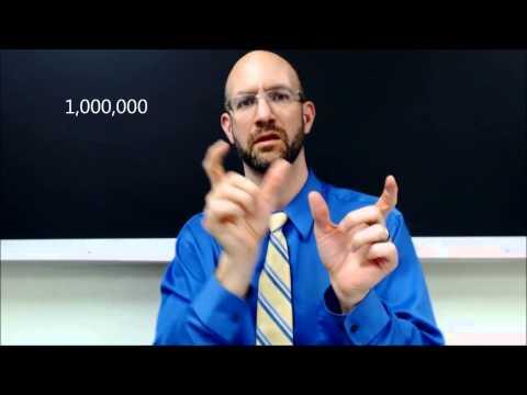 Number 100 1000 1000000 | ASL - American Sign Language