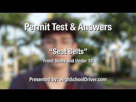 Seat Belt Laws - Florida Permit Test