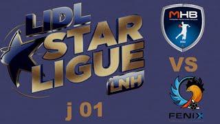Montpellier VS Toulouse Handball LIDL STARLIGUE  j01