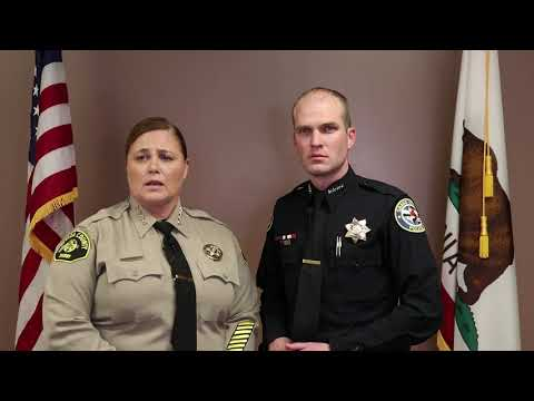 Officer Involved Shooting Update by Nevada County Sheriff Moon and GVPD Chief Gammelgard