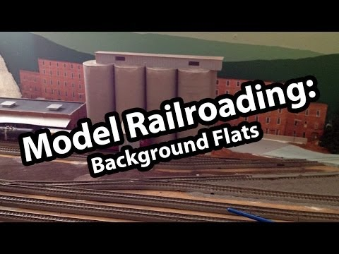 Model Railroading How To: Backdrop Buildings