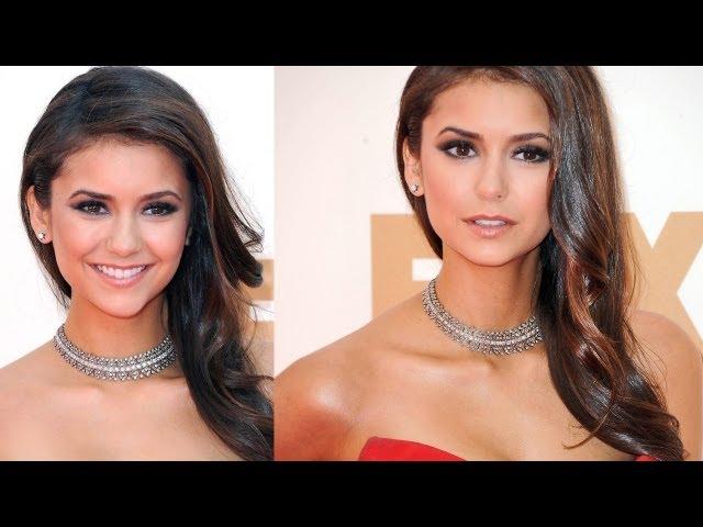 Nina Dobrev Emmys Inspired Makeup
