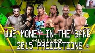 WWE Money In The Bank 2015 Predictions + 2K15 CPU Match