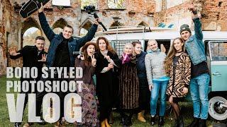 "Stilizuota ""boho"" fotosesija (vLog)  | Vestuvių fotografas"