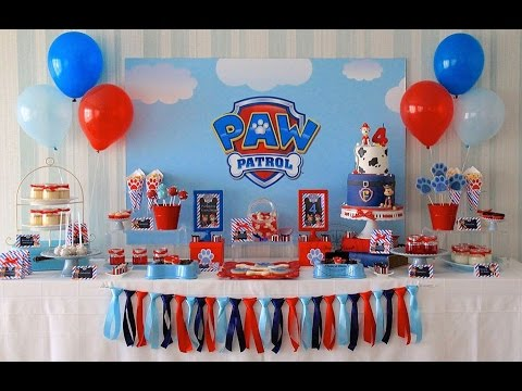 Paw Patrol Birthday Party via Little Wish Parties childrens party blog