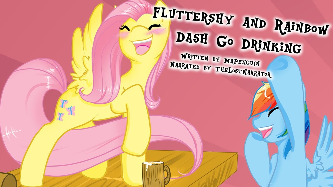 Fluttershy And Rainbow Dash Go Drinking [MLP Fanfic