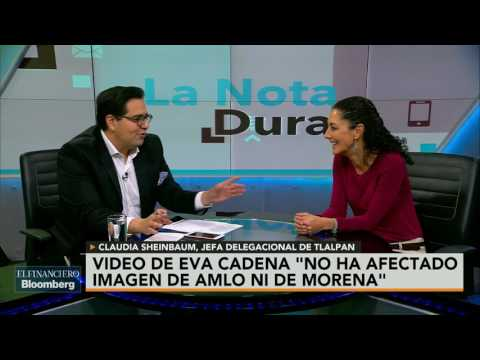 Eva Cadena es una cosa y Morena es otra: Claudia Sheinbaum