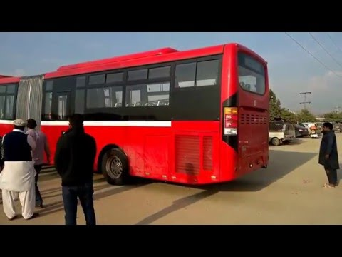 Islamabad, Metro Bus.
