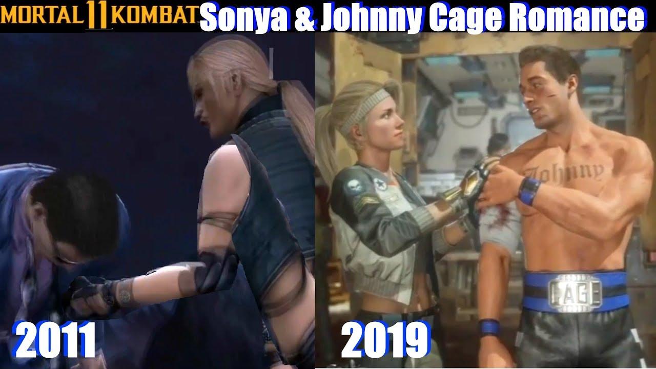 Download Sonya & Johnny Cage Romance (Current Timeline MK11) - Mortal Kombat 11