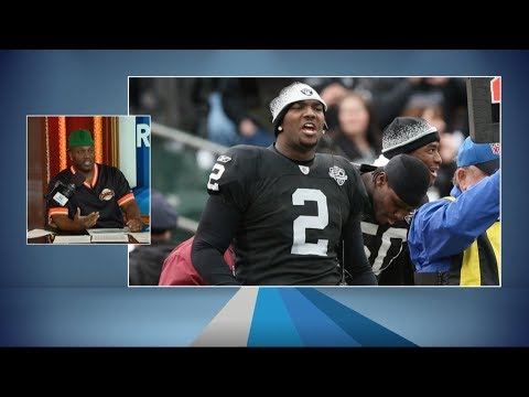 Former Raiders\' LB Kirk Morrison Tells a Couple of Funny Jamarcus Russell Stories - 3/29/18