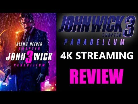 JOHN WICK 3: Parabellum 4K Digital Stream Review